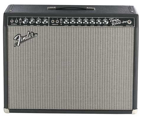 Fender 65 Twin Reverb Guitar Combo Amplifier