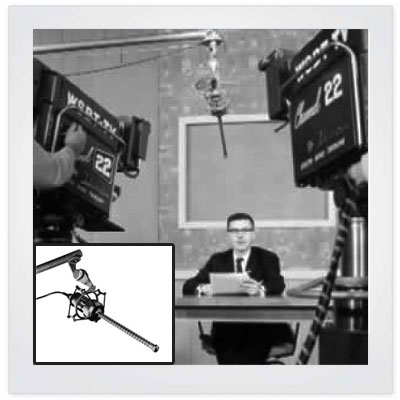 642 ultra-directional shotgun microphone