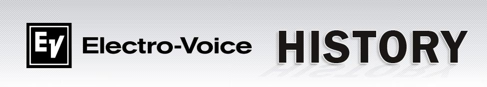 Electro-Voice History