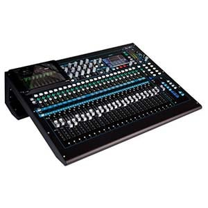 Allen And Heath QU-24C 24 Channel Digital Mixer Chrome Edition