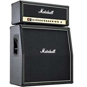 Marshall DSL100 Head with JCM1960A 4x12 Cabinet