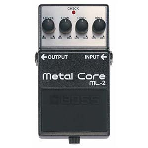 BOSS Metal Core Pedal