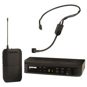 Shure BLX14 P31 H9 PGA31 Headset Wireless Microphone System H9