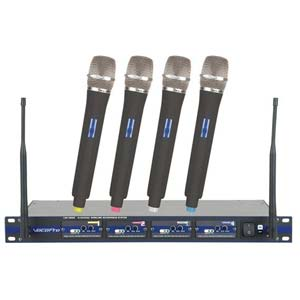 VocoPro UHF5800 Plus Handeld Wireless System with Bag