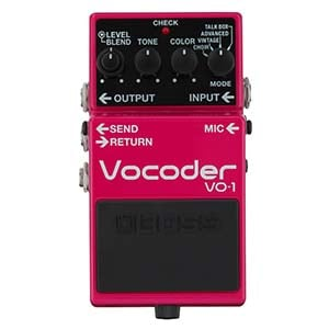 Boss VO1 Vocorder Vocal Effects Pedal