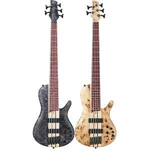 Ibanez Bass Workshop SRSC805 Electric Bass Deep Twilight Flat