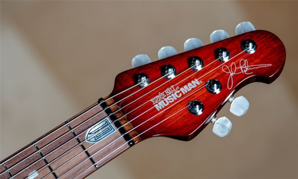 John Petrucci Dragon's Blood Headstock