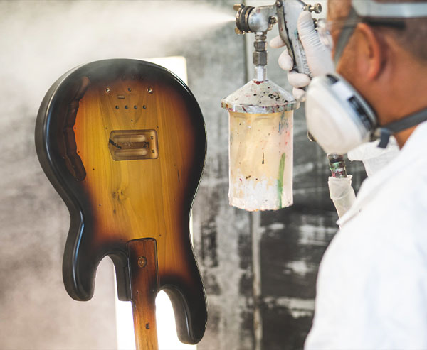 Ernie Ball Music Man Manufacturing Process 3