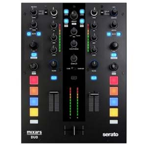 Mixars DUO MKII Professional DJ Mixer for Serato