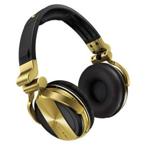 Pioneer HDJ1500N Professional DJ headphones in Gold