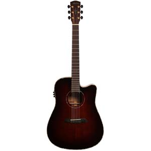 Alvarez MDA66CESHB Acoustic Electric Cutaway Guitar Shadowburst w/Case