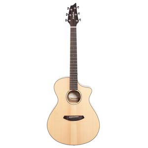 Breedlove Pursuit Exotic Concert CE Acoustic Electric Myrtlewood w/Bag