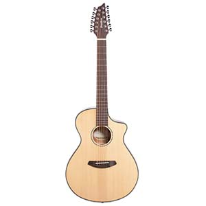 Breedlove Pursuit Concert 12 String Acoustic Electric Cutaway with Bag
