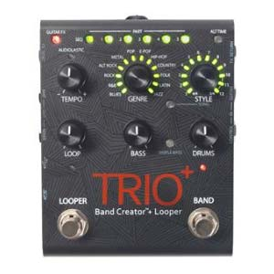 Digitech Trio Plus Band Creator with Guitar Looping Pedal