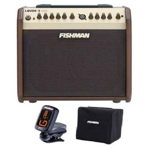 Fishman Loudbox Mini Acoustic Guitar Amplifier with Free Cover and FT2