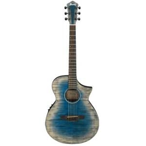 Ibanez AEWC32 Acoustic Electric Guitar Glacier Blue Low Gloss