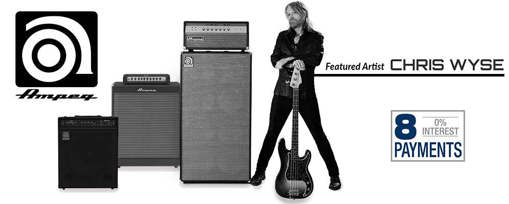 Ampeg - 12 Payments Available - Payments starting at $83.33 - Featured Artist - Chris Wyse