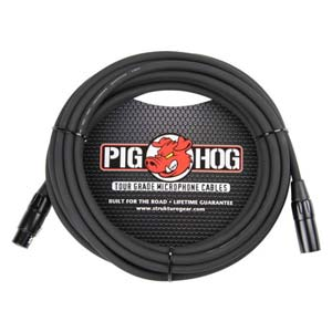 Pig Hog 8mm XLR Microphone Cable - 20 Feet