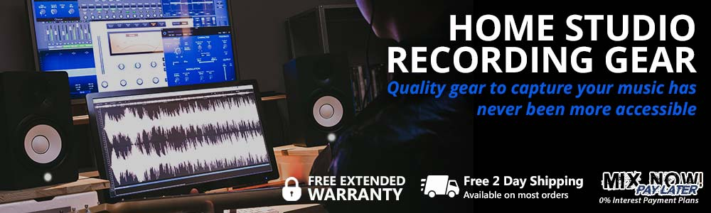 Home Studio Recording Gear - Quality gear to capture your music!