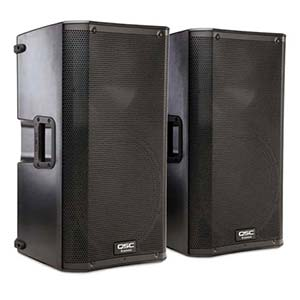 QSC K12 Powered PA Speakers