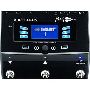 TC Helicon Play Acoustic Vocal Harmony and Effects Processor