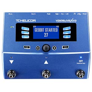 TC Helicon VoiceLive Play Vocal Harmony Effects Processor