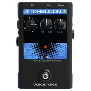 TC Helicon C1 Pitch Correction Pedal