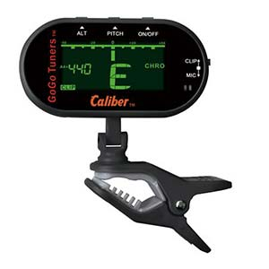 GoGo Caliber Chromatic Clip-On Instrument Tuner