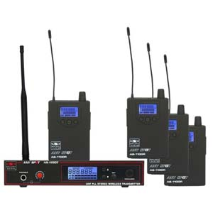 Galaxy Audio AS-1100-4 Band Pack Wireless In Ear Monitor System
