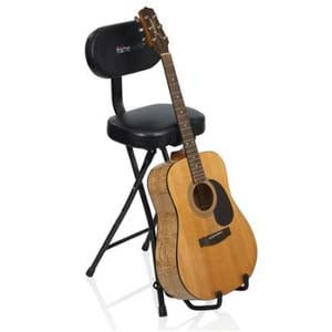 Gator GFWGTRSEAT Combination Guitar Seat/Stand