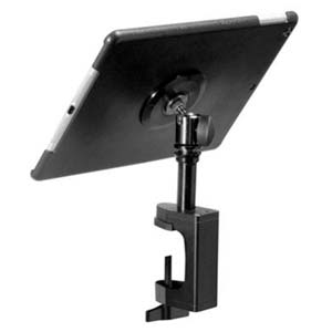 On Stage TCM9368 iPad Air Snap-On Cover w/ Table Clamp