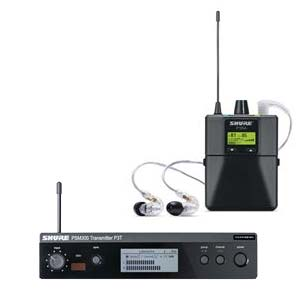 Shure P3TRA215CL PSM300 Wireless In Ear Monitor System