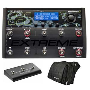 TC Helicon VoiceLive3 Extreme Vocal FX Performance Package