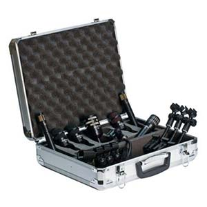 Audix DP7 Seven Microphone Drum Package With Case And Clamps