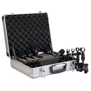 Audix FP7 Fusion Drum Microphone Seven Pack With Case And Clamps