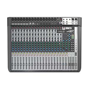 Soundcraft Signature 22 MTK Muti-Track 22-Channel Mixer