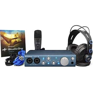 PreSonus AudioBox iTwo Studio Recording Package