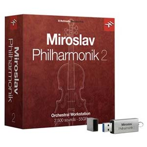 IK Multimedia Miroslav Philharmonic 2 Software Instrument