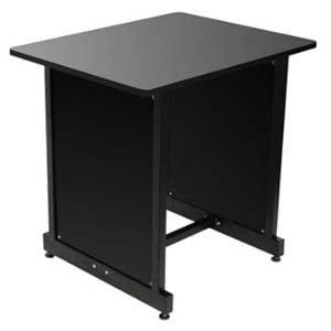 On Stage WSR7500B Workstation Rack Cabinet Black