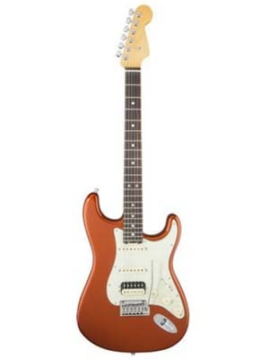 Fender American Elite Strat HSS Shawbucker Autumn Blaze Metallic