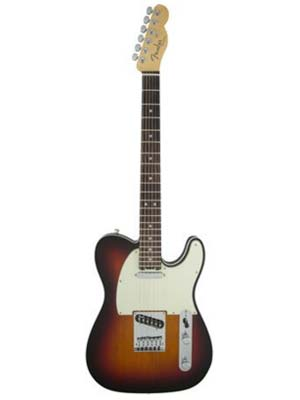 Fender American Elite Telecaster Rosewood 3 Color Sunburst with Case