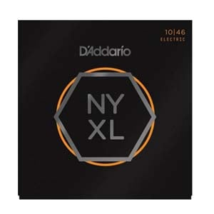 D'Addario NYXL1046 Nickel Wound Electric Guitar Strings 10-46