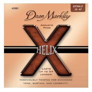 Dean Markley DM2085 Helix HD Phosphor Acoustic Guitar Strings