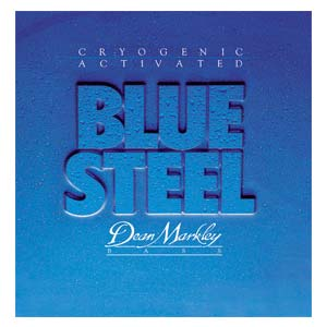 Dean Markley Blue NPS Steel Bass Guitar Strings
