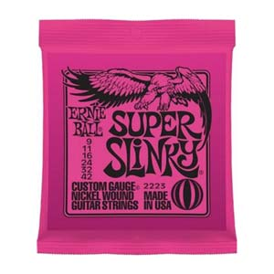 Ernie Ball 2223 Super Slinky Electric Guitar Strings 9-42