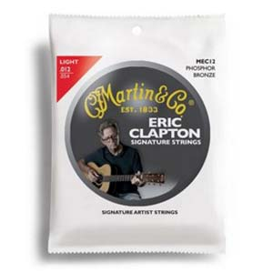 Martin MEC12 Eric Clapton Signature Strings Light 1254