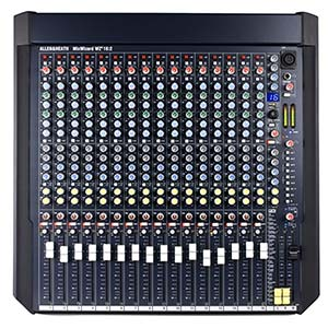 Allen & Heath MixWizard4 WZ4 16:2 16 Channel Rackmountable Mixer