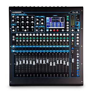 Allen And Heath QU-16C 16 Channel Digital Mixer Chrome Edition