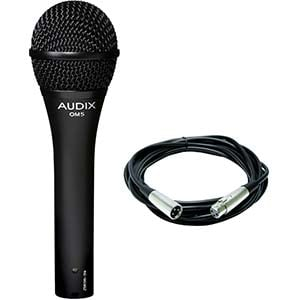 Audix OM5 Dynamic Handheld Vocal Mic With Cable