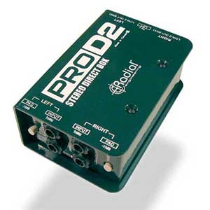 Radial Pro D2 Stereo Passive Direct Box